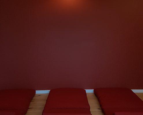 Entspannung im Roten Salon